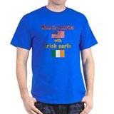 Made in American with Irish p T-Shirt