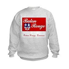 Baton Rouge LA Flag Sweatshirt