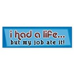 Had a Life Bumper Sticker