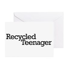 Recycled Teenager Greeting Cards (Pk of 20)