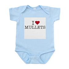 I Heart Mullets Infant Creeper