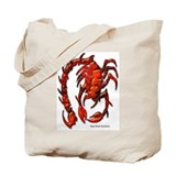 Red Rock Scorpion Tote Bag