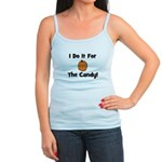 I Do It For The Candy! (pumpk Jr. Spaghetti Tank