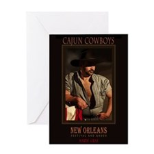 Cajun Cowboys Greeting Card