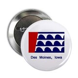 Des Moines IA Flag Button