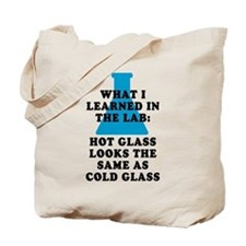 Lab Glass Tote Bag