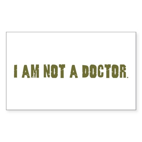 Funny gifts for nurses Rectangle Sticker
