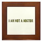 Funny gifts for nurses Framed Tile