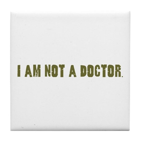Funny gifts for nurses Tile Coaster