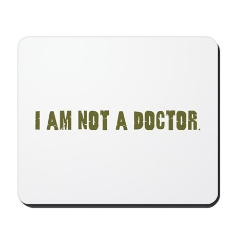 Funny gifts for nurses Mousepad