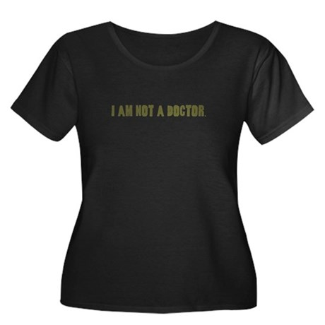 Funny gifts for nurses Women's Plus Size Scoop Nec