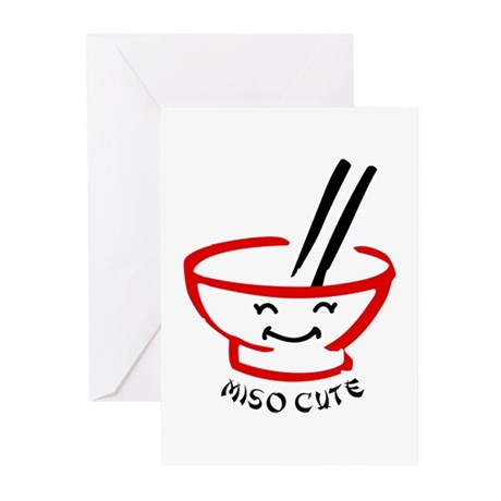 Miso Cute Greeting Cards (Pk of 20)