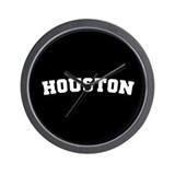 Houston Wall Clock