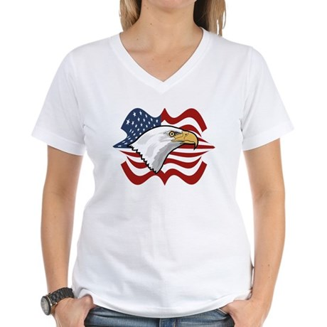 American Eagle Women's V-Neck T-Shirt