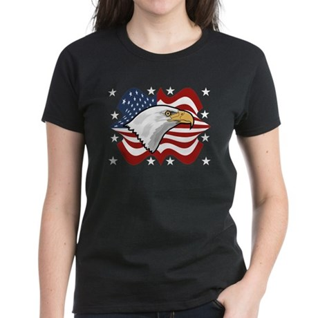 American Eagle Women's Dark T-Shirt