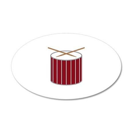 Snare Drum Wall Decal