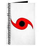 Horizontal Hurricane Symbol Journal