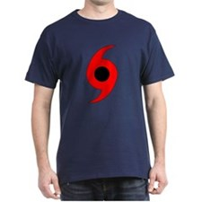 Hurricane Symbol Vertical T-Shirt