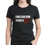 Off Duty Construction Worker Women's Dark T-Shirt