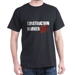 Off Duty Construction Worker Dark T-Shirt