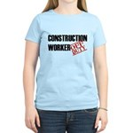 Off Duty Construction Worker Women's Light T-Shirt