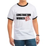 Off Duty Construction Worker Ringer T