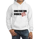 Off Duty Construction Worker Hooded Sweatshirt