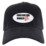 Off Duty Construction Worker Black Cap
