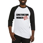 Off Duty Construction Worker Baseball Jersey