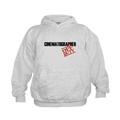 Off Duty Cinematographer Kids Hoodie