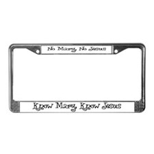 Cute Catholic License Plate Frame
