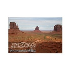 Arizona Monument Valley Rectangle Magnet