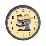 School Kids Wall Clock