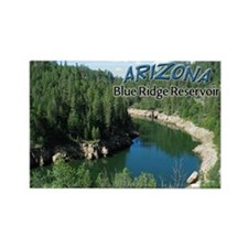 Arizona Blue Ridge Rectangle Magnet