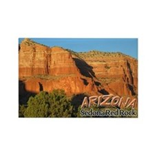 Arizona Sedona Red Rock Rectangle Magnet