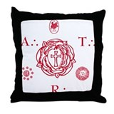 Sacred Seal of the ART Throw Pillow