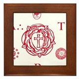 Sacred Seal of the ART Framed Tile