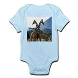 Giraffe Crossing Infant Bodysuit