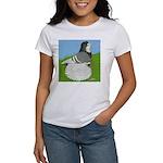 Opal Trumpeter Pigeon Women's T-Shirt