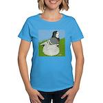 Opal Trumpeter Pigeon Women's Dark T-Shirt
