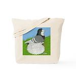 Opal Trumpeter Pigeon Tote Bag