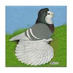 Opal Trumpeter Pigeon Tile Coaster