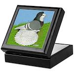 Opal Trumpeter Pigeon Keepsake Box