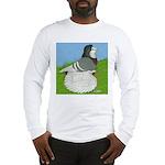 Opal Trumpeter Pigeon Long Sleeve T-Shirt