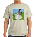 Opal Trumpeter Pigeon Light T-Shirt