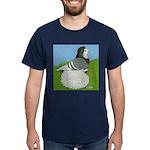 Opal Trumpeter Pigeon Dark T-Shirt