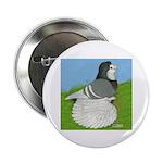 Opal Trumpeter Pigeon Button