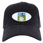 Opal Trumpeter Pigeon Black Cap