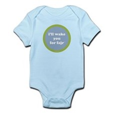 Fajr Infant Creeper (light blue + green)