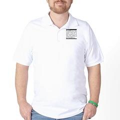 Evil Genius Personal Ad Golf Shirt